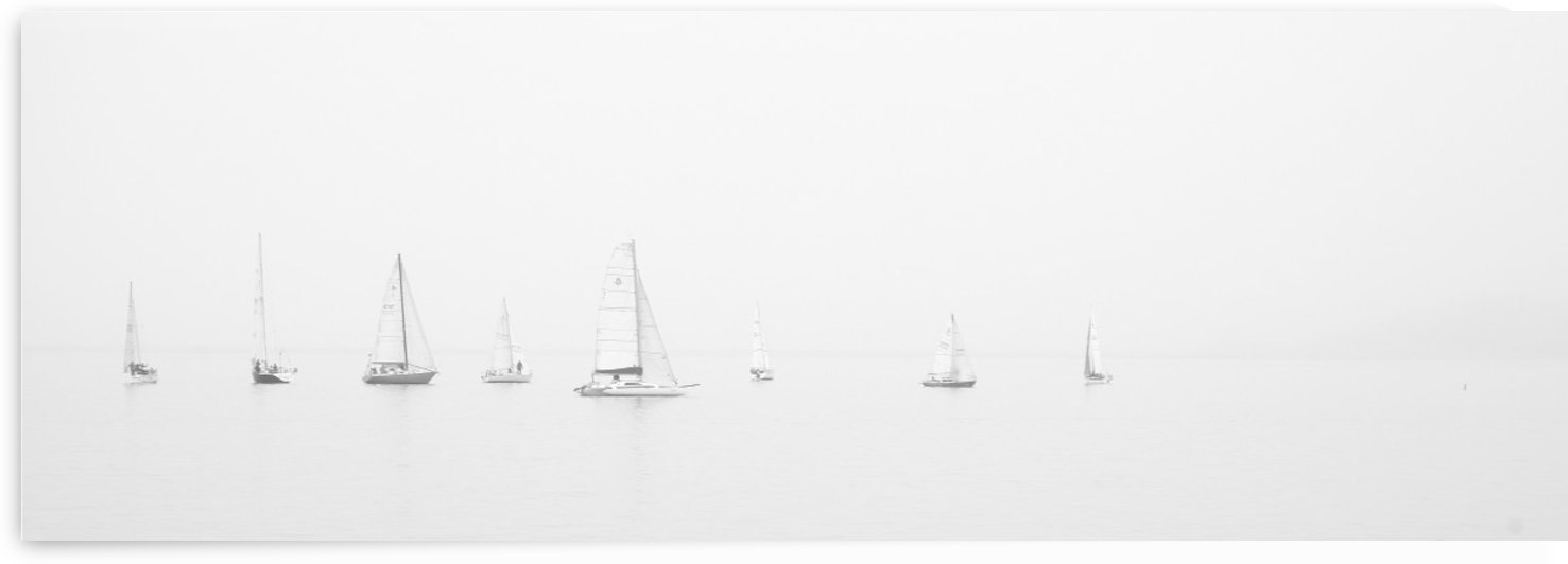 sea black and white ocean boats by Stockpix