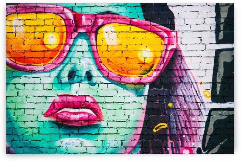 graffiti wall by Stock Photography