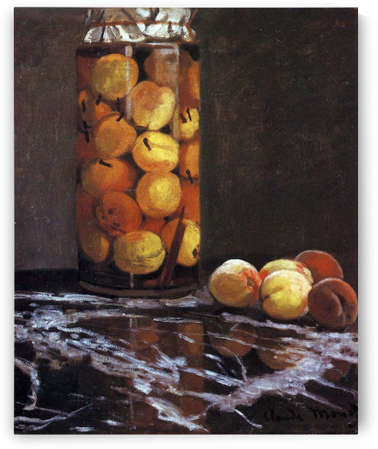 The Peach Glass by Monet by Monet