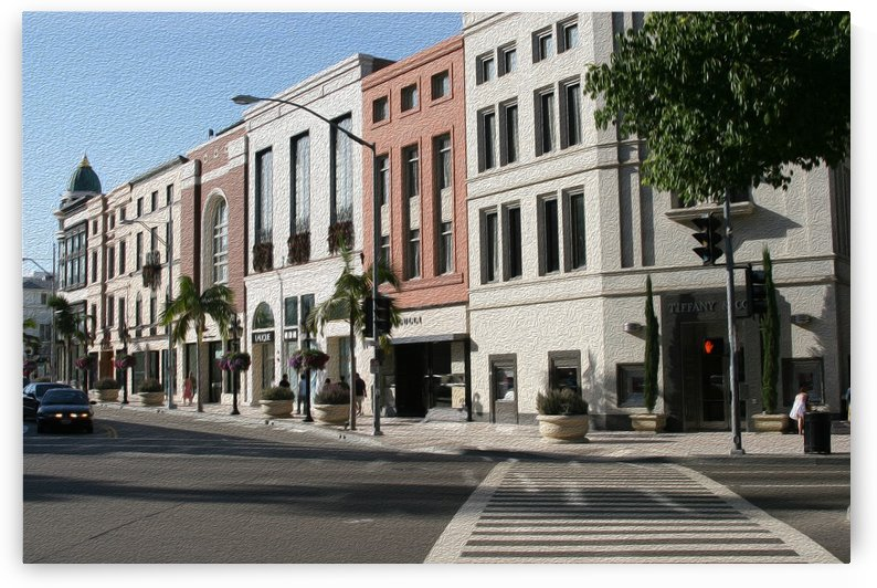 North Rodeo Drive by Hold Still Photography