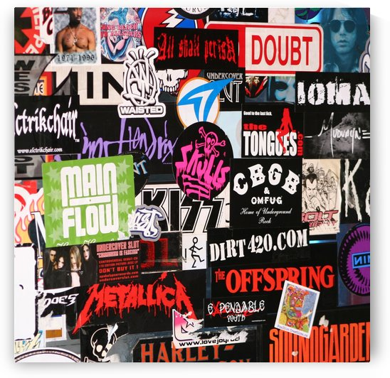Rock & Roll Stickers by Hold Still Photography