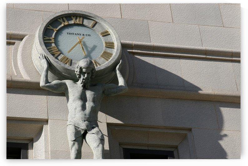 Man Holding Tiffany Clock by Hold Still Photography