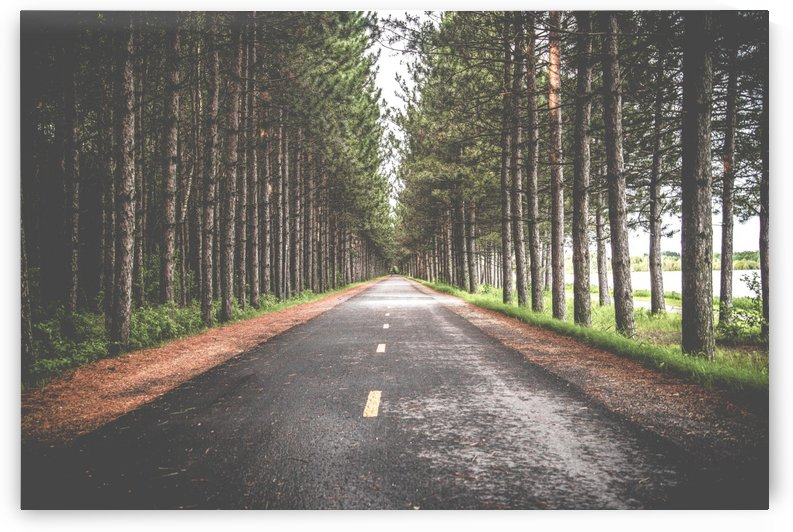 Road perspective by Stockpix