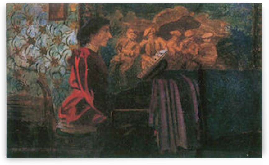 The piano by Felix Vallotton by Felix Vallotton