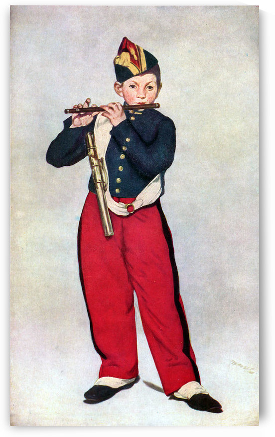 The Piper by Manet by Manet