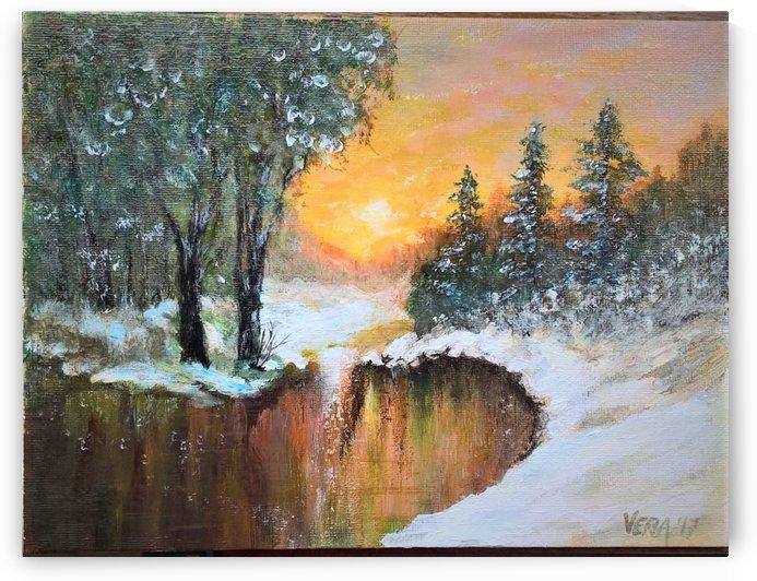 beginning of winter by ciobanu c veronica