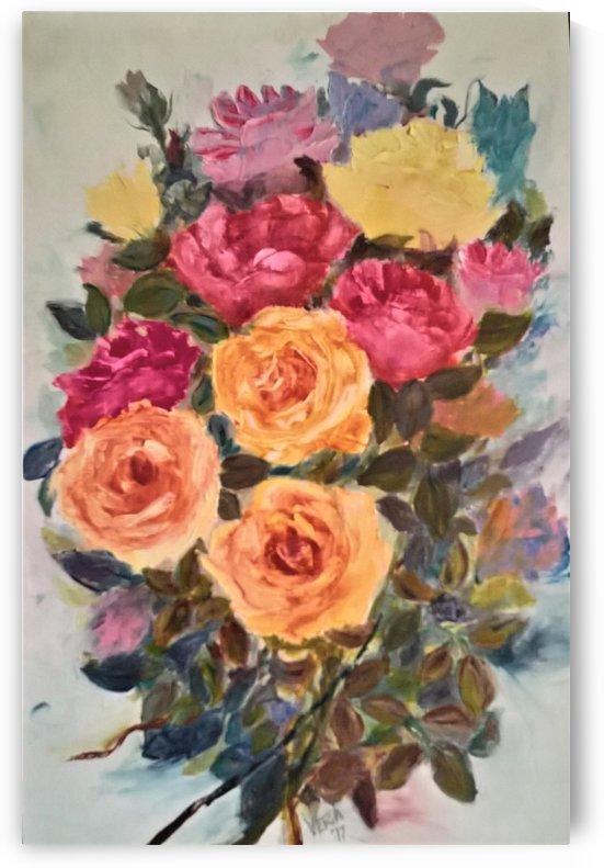 flowers of love by ciobanu c veronica