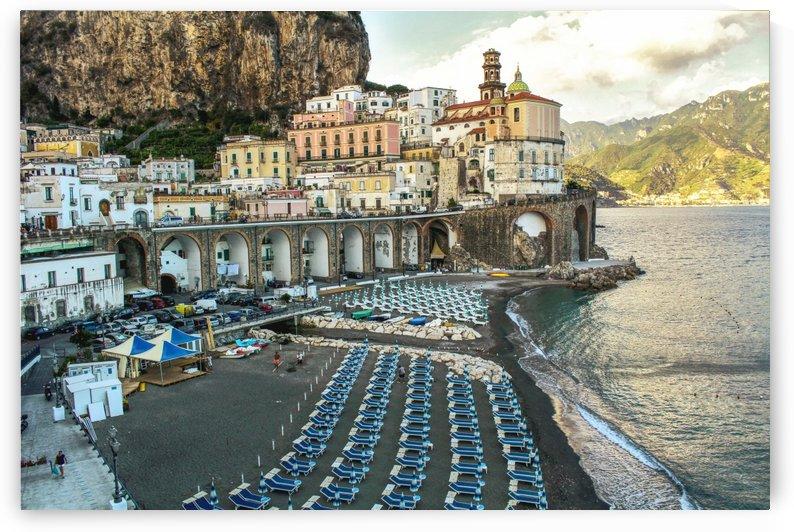 Amazing Landscape of Amalfi Village - Italy by Bentivoglio Photography