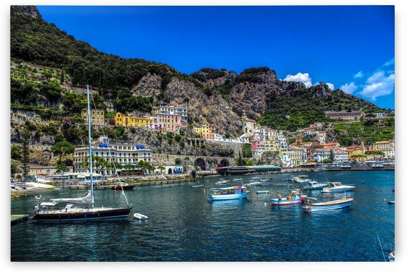 Amalfi Coast Panoramic View by Alessandro Ricardo Bentivoglio Uva