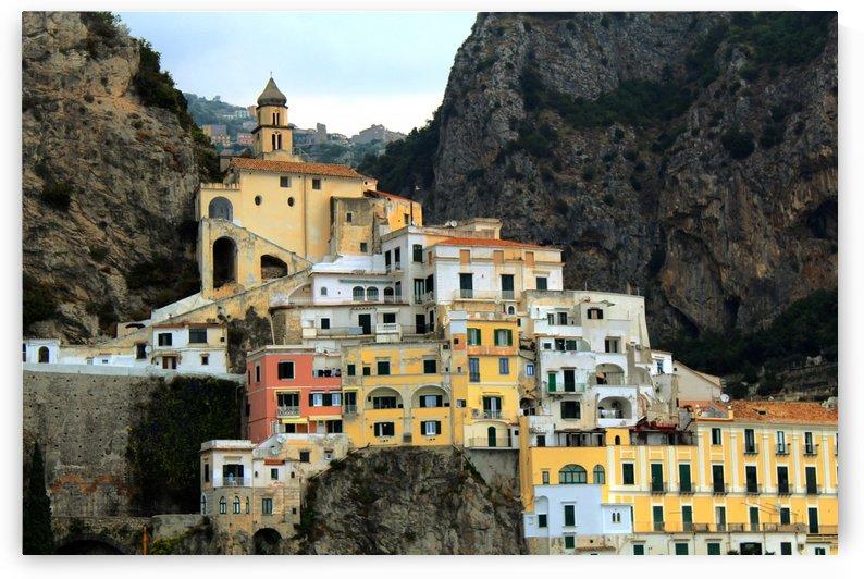 Amalfi  Old Town - Italy by Alessandro Ricardo Bentivoglio Uva