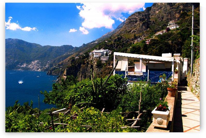 Amalfi Coast Landscape - Italy by Alessandro Ricardo Bentivoglio Uva