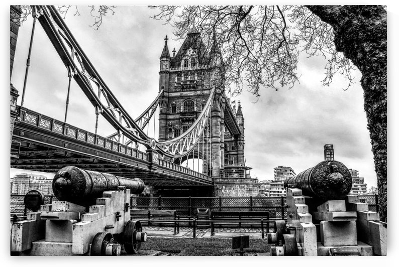 London Tower Bridge Old Style by Alessandro Bentivoglio