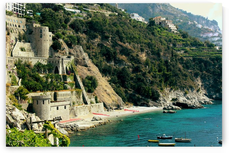 Amalfi Coast Beach - Italy by Alessandro Ricardo Bentivoglio Uva