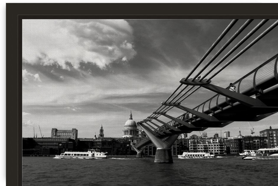 Millennium Bridge - London - United Kingdon by Alessandro Ricardo Bentivoglio Uva