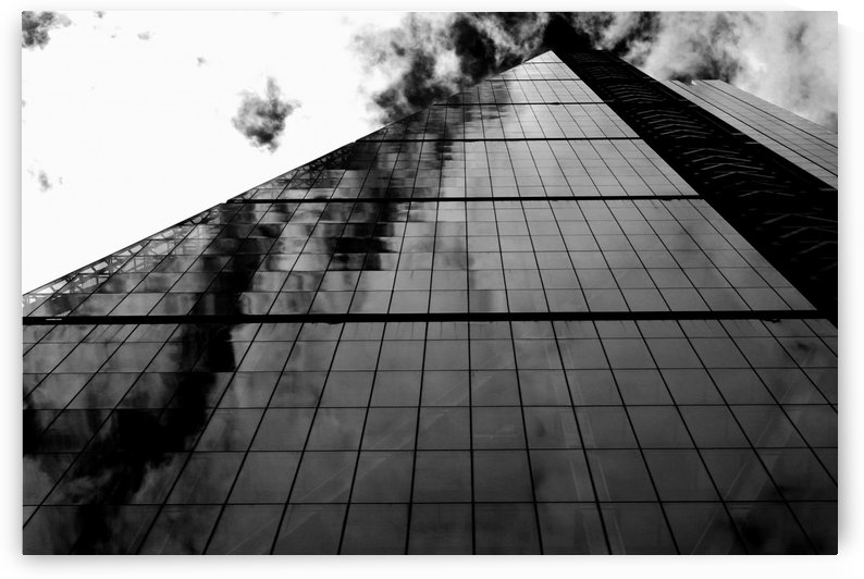 London Skyscraper II - Black and White by Bentivoglio Photography