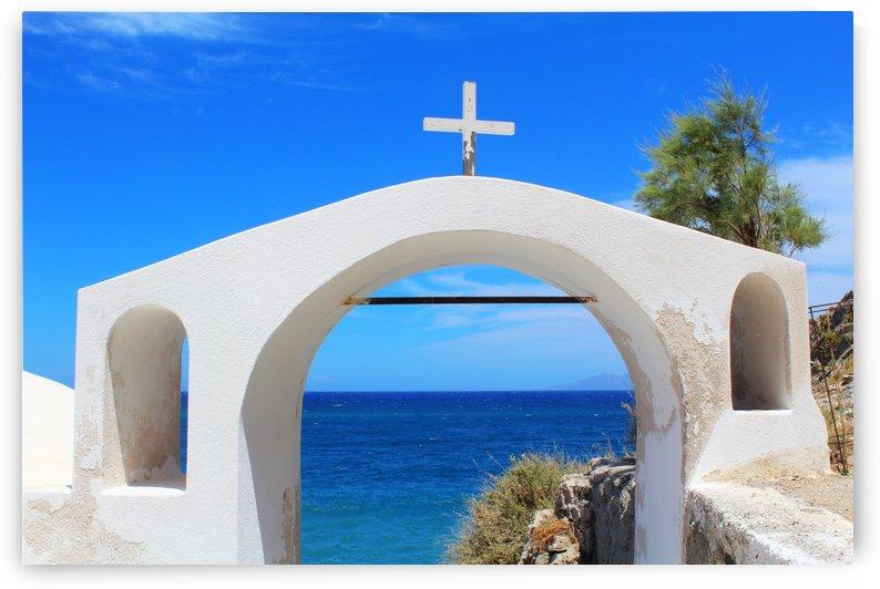 The Arch - Santorini Island by Alessandro Ricardo Bentivoglio Uva
