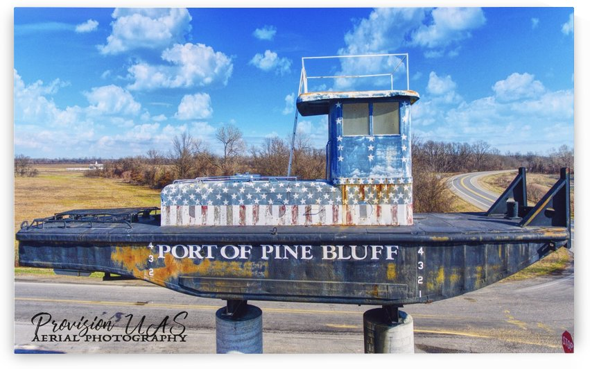 Pine Bluff, AR | Port Sign by Provision UAS
