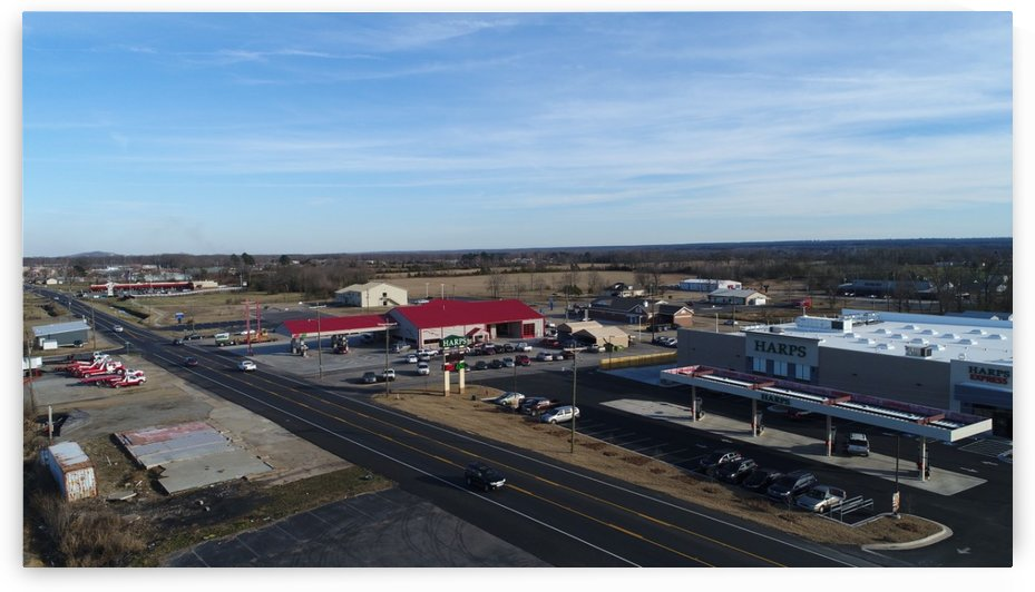 Vilonia Downtown by Arkansas Drone Solutions