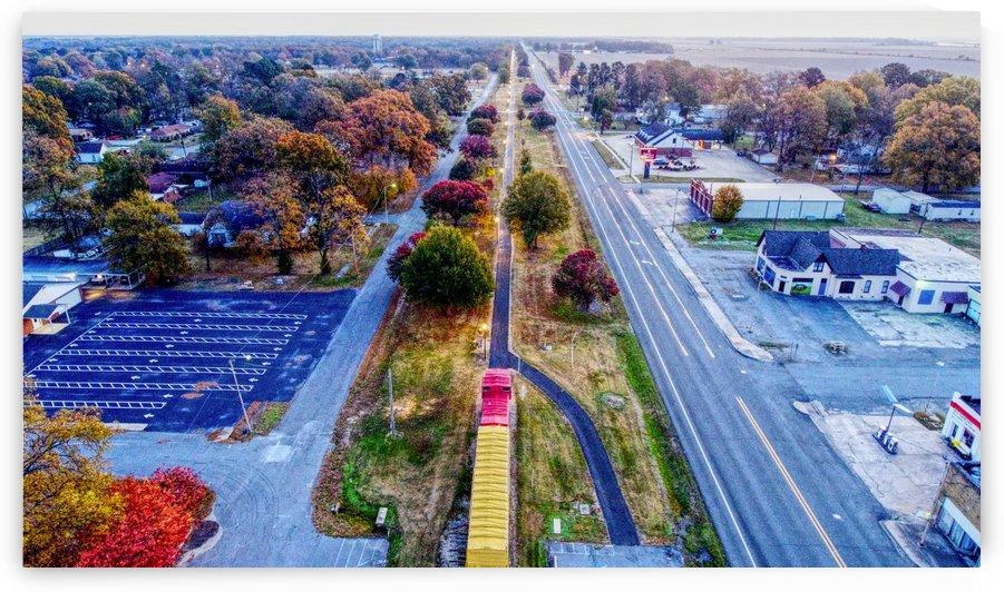 Lonoke, AR | Lonoke Railroad by Provision UAS
