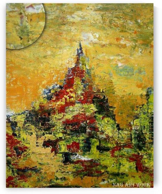 Mount Temple by stunpsycho