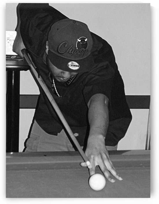 8 BALL...CORNER POCKET by CARLEEN CLIFTON BRAGG