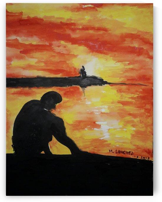 Sunset by Marjorie Sanchez
