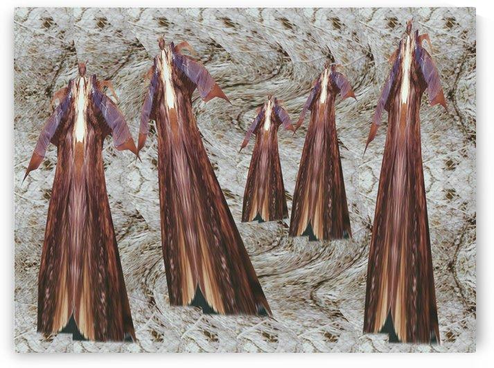DANCE TROUPE No 2 by Otto Graser Visual Artist