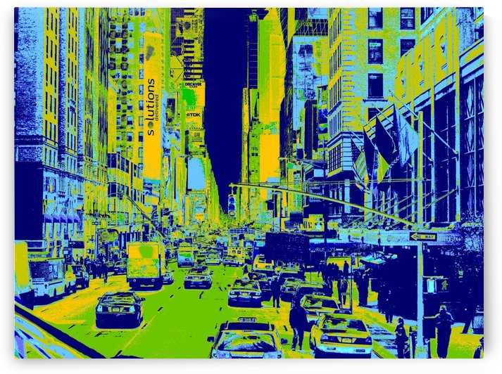 Madison Ave by Darryl Green
