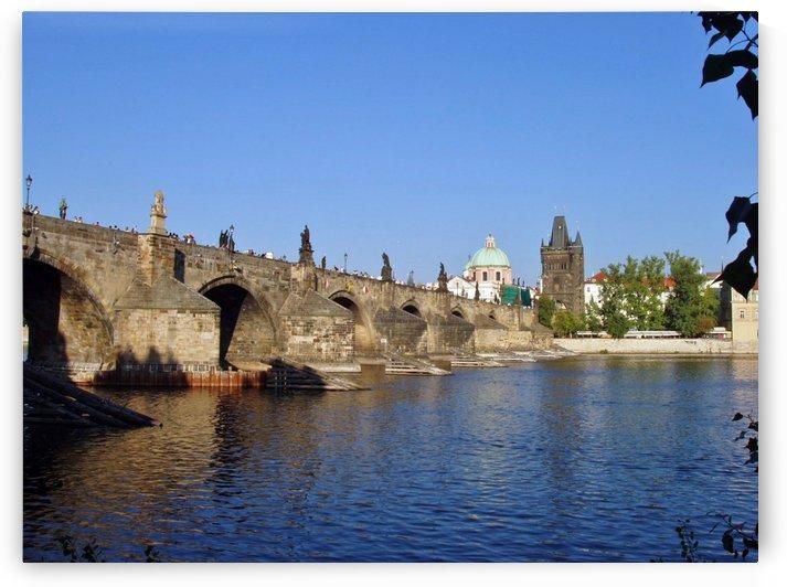 View of The Charles Bridge Prague by Darryl Green