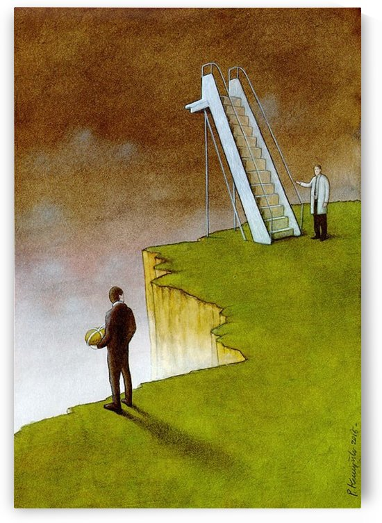 help (euthanasia) by Pawel Kuczynski