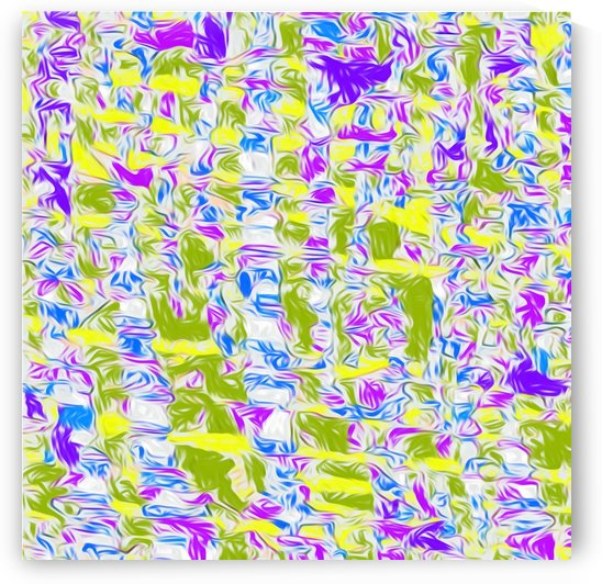 psychedelic painting texture abstract pattern background in purple blue yellow green by TimmyLA