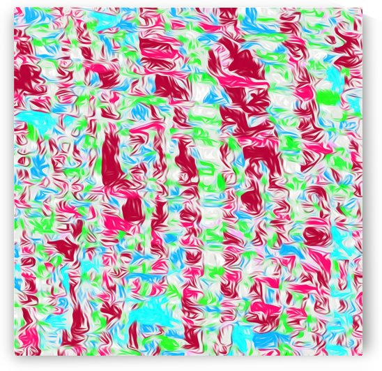 psychedelic painting texture abstract pattern background in pink blue green by TimmyLA