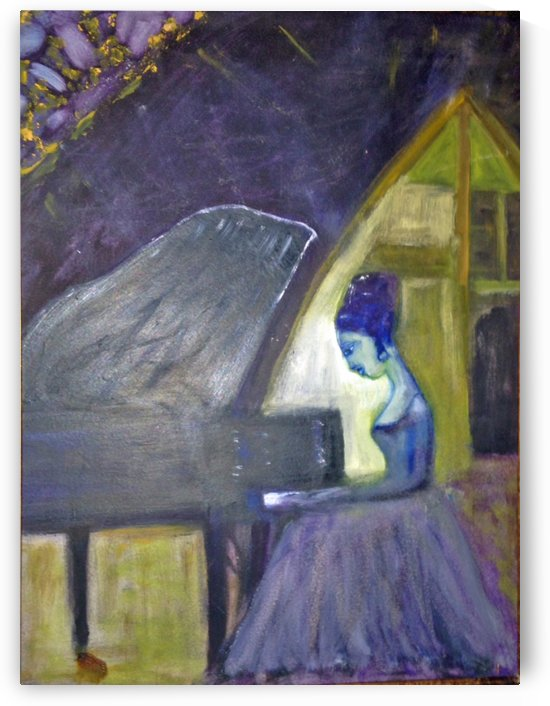 The Pianist by Darryl Green