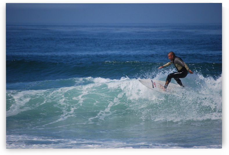 Surfer In California by Darryl Green