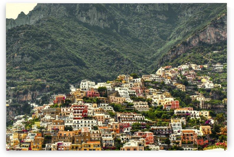 Mountain Village at Amalfi Coas by Alessandro Ricardo Bentivoglio Uva