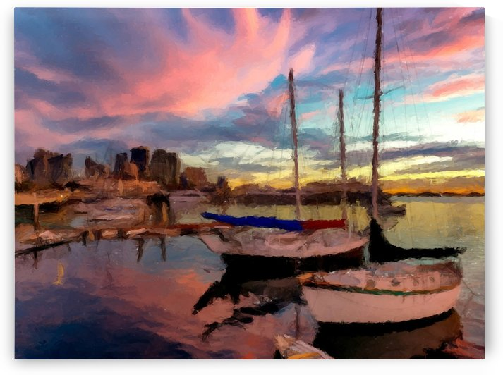 Dock of the Bay by David Dehner