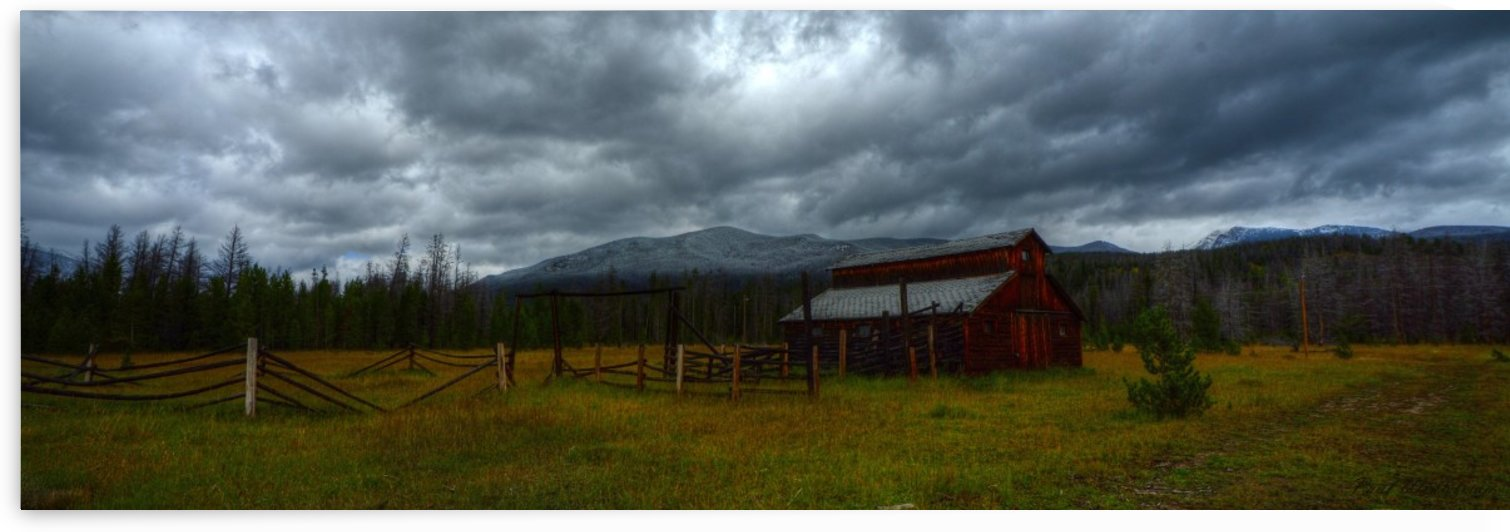Rocky Mountain Barn 2 by Paul Winterman