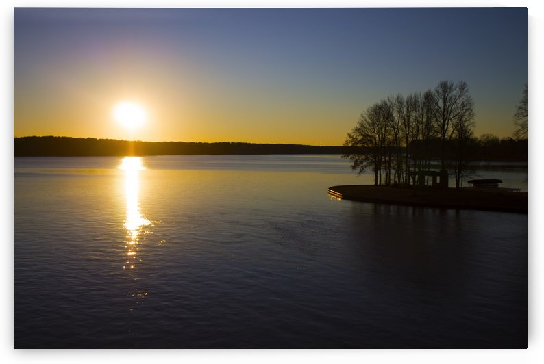 Lake Oconee at Sunrise by Zikia Smith