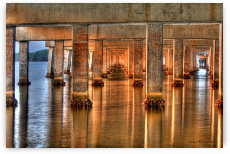 L FL 22- Under Bailey Bridge by Paul Winterman