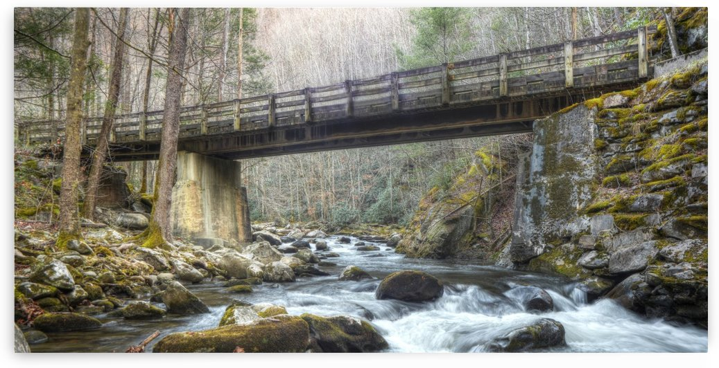 2-2 Bridge Over Rushing Water by Paul Winterman