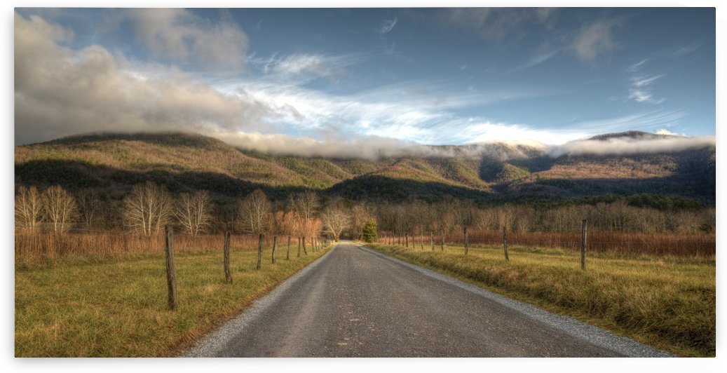 3- Road to Mountains by Paul Winterman