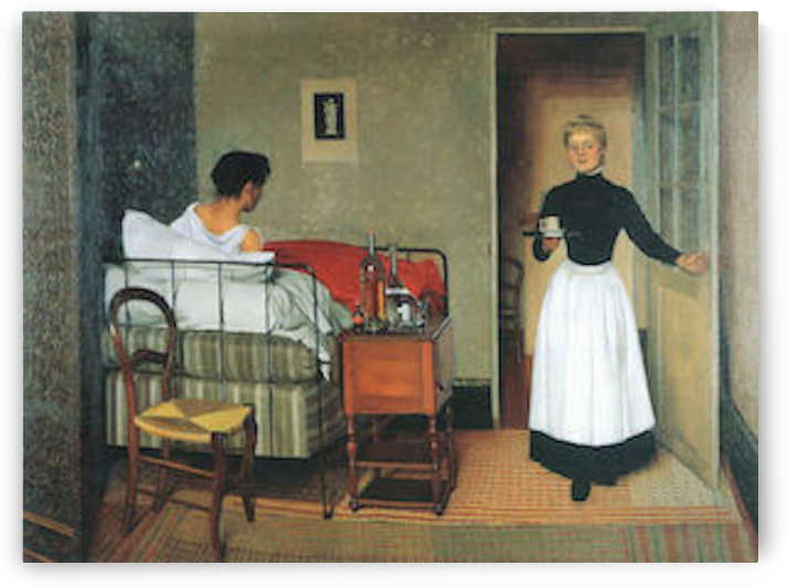 The sick by Felix Vallotton by Felix Vallotton