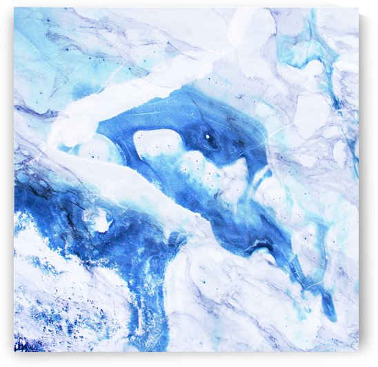 blue abstract marble by cadinera