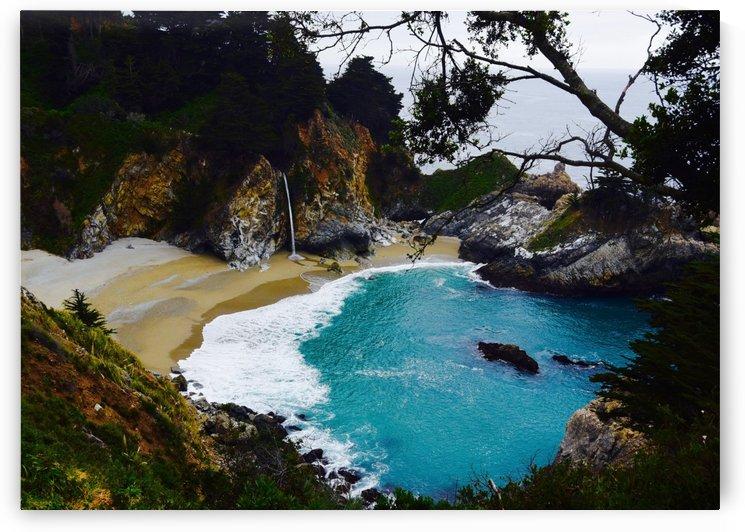 Peaceful  Big Sur by Robin Buckley