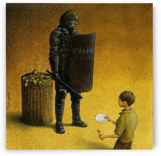Garbage by Pawel Kuczynski