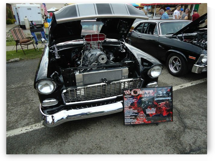 Supercharged '55 Chevy by pyro