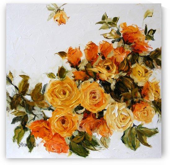 gold roze by Elena Bissinger
