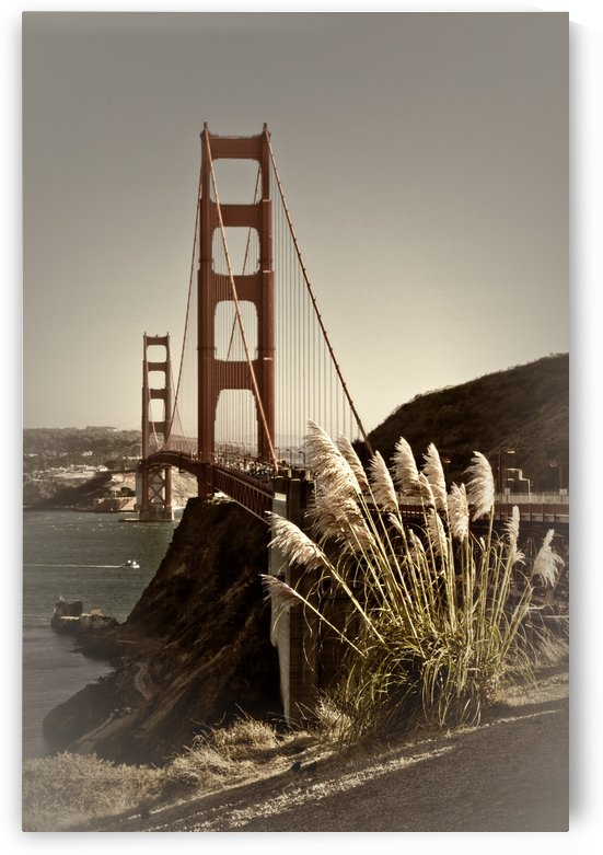 Golden Gate Bridge | Vintage by Melanie Viola