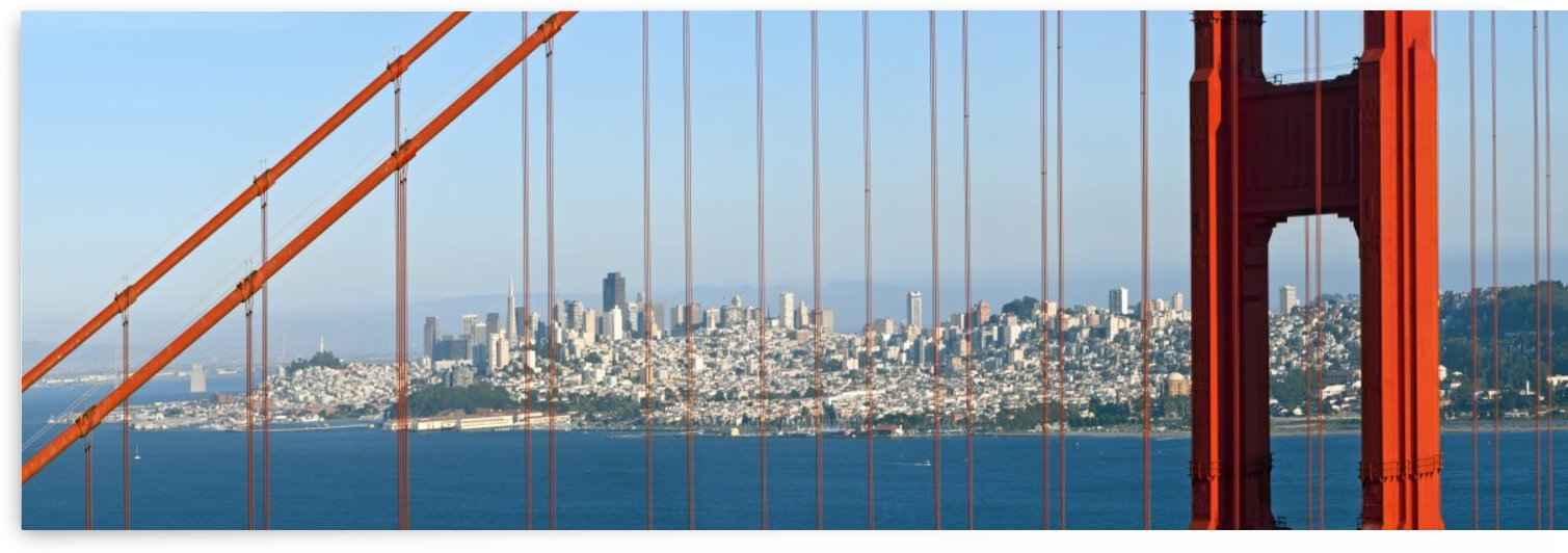 Golden Gate Bridge | Panorama by Melanie Viola