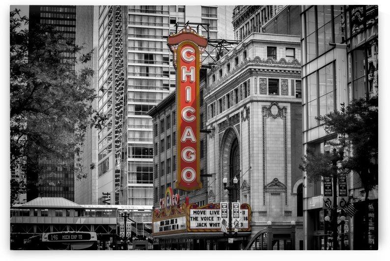 CHICAGO State Street by Melanie Viola